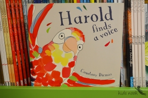 harold finds a voice title